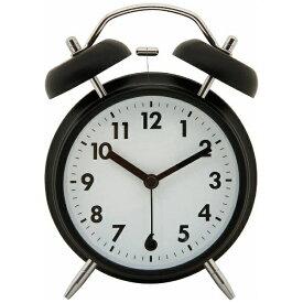 不二貿易 Fuji Boeki 目覚まし時計 ベル ブラック 32702