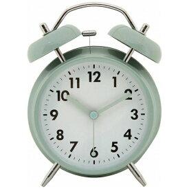 不二貿易 Fuji Boeki 目覚まし時計 ベル ペールブルー 32703