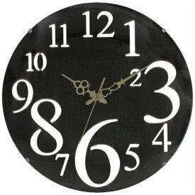 不二貿易 Fuji Boeki 掛け時計 レトロ ブラウン 56921
