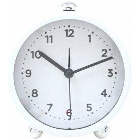 不二貿易 Fuji Boeki 置き時計 クローエ ホワイト 99051