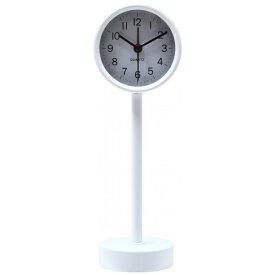 不二貿易 Fuji Boeki 置き時計 スタンド ホワイト 99055