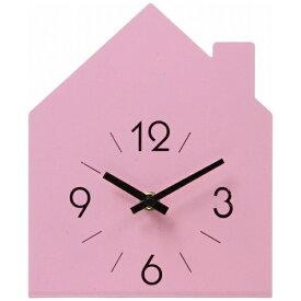 不二貿易 Fuji Boeki 置き時計 ハウス ピンク 99058