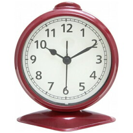 不二貿易 Fuji Boeki 置き時計 テーブルアラーム レッド 99084
