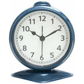 不二貿易 Fuji Boeki 置き時計 テーブルアラーム ブルー 99085
