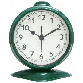 不二貿易 Fuji Boeki 置き時計 テーブルアラーム グリーン 99086