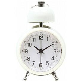 不二貿易 Fuji Boeki 置き時計 ベルクロック アイボリー 99087