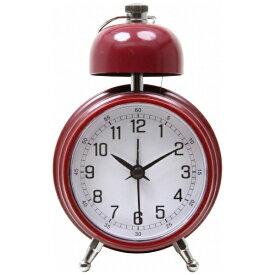 不二貿易 Fuji Boeki 置き時計 ベルクロック レッド 99088