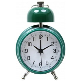不二貿易 Fuji Boeki 置き時計 ベルクロック グリーン 99090