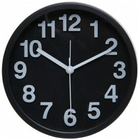 不二貿易 Fuji Boeki 置き時計 リアム ブラック 99230