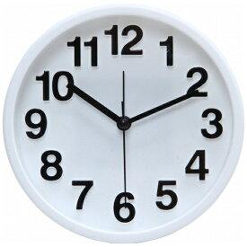 不二貿易 Fuji Boeki 置き時計 リアム ホワイト 99231