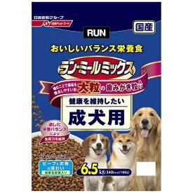 日清ペットフード Nisshin Pet Food ラン・ミールミックス 大粒成犬用 6.5kg