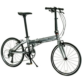 ルノー RENAULT 20型 折りたたみ自転車 プラチナマッハ8 PLATINUM MACH8(Metallic Silver/9段変速)11298-09【組立商品につき返品不可】 【代金引換配送不可】