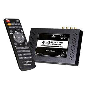 ビートソニック BeatSonic HFT3 地デジチューナー 車載 4×4 HDMI 地デジ フルセグ ワンセグ メディアプレーヤー 高画質 高感度