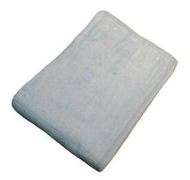 生毛工房 ニューマイヤー綿毛布(シングルサイズ/140×200cm/ブルー)【日本製】