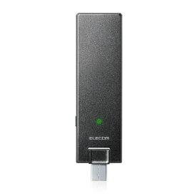エレコム ELECOM WTC-1167US-B 無線LAN(wi-fi)中継機 [ac/n/a/g/b][WTC1167USB]