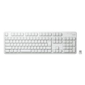 エレコム ELECOM キーボード ホワイト TK-FDM106TXWH [USB /ワイヤレス][TKFDM106TXWH]