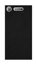 caseplay jam ケースプレイジャム Xperia XZ1 PCケース 01_0104_0029_c13_xtz1_m01 ブラックレザー