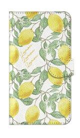 caseplay jam ケースプレイジャム Galaxy S8 手帳ケース 01_0101_0009_c15_gs8_m03 アートなレモン