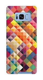 caseplay jam ケースプレイジャム Galaxy S8+ PCケース 01_0104_0033_c15_gs8p_m01 カラフルタイル