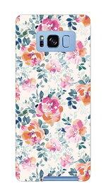 caseplay jam ケースプレイジャム Galaxy S8+ PCケース 01_0103_0027_c15_gs8p_m01 エレガントフラワー