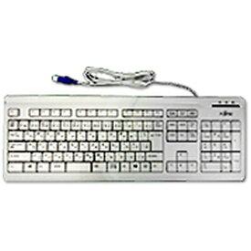 富士通 FUJITSU FMV-KB327 キーボード マーブルグレー [USB /有線][FMVKB327]
