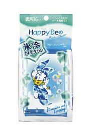 マンダム mandom mandom(マンダム) Happy Deo(ハッピーデオ) ボディシート アイスダウン フローズンシャボン <徳用>〔デオドラント〕【wtcool】