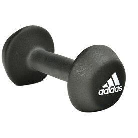 アディダス adidas トレーニング ネオプレン ダンベル 4kg(サイズ:重量4kg/ブラック)ADWT10024