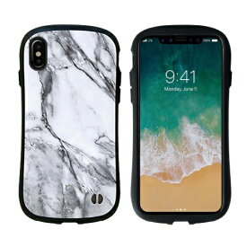 HAMEE ハミィ iPhone X用 iFace First Class Marbleケース ホワイト IP8IFACEMARBLEWH
