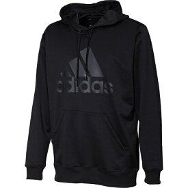 アディダス adidas FAO98 [ESSENTIALS ライトスウェット プルオーバーパーカー メンズ ブラック /L]
