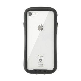 HAMEE ハミィ iPhone SE(第2世代)4.7インチ/ iPhone 8/7専用 iFace Reflectionハイブリッドガラスケース(ブラック) 41-907108