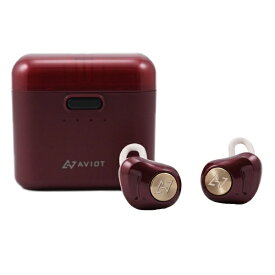 AVIOT アビオット フルワイヤレスイヤホン ダークルージュ TE-D01d-DR [リモコン・マイク対応 /ワイヤレス(左右分離) /Bluetooth /ノイズキャンセリング対応][ アビオット ワイヤレスイヤホン TED01DDR ]
