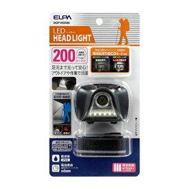 ELPA エルパ DOP-HD500 ヘッドライト [LED /単4乾電池×3 /防水]