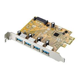 I-O DATA アイ・オー・データ USB 3.1 Gen 1(USB 3.0)/2.0インターフェイスボード US3-4PEXR[US34PEXR]