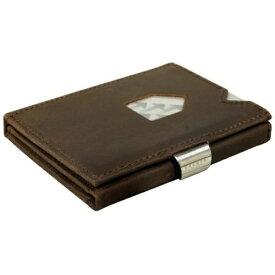 EXENTRI エキセントリ EX 018 NUBUCK BROWN ヌバックブラウン ウォレット EXENTRI コンパクト財布