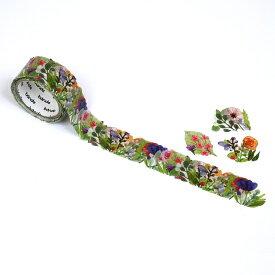 バンデ bande マスキングロールステッカー Flower Wreath BDA402