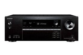 オンキヨー ONKYO AVアンプ TX-SR393(B) ブラック [ハイレゾ対応 /Bluetooth対応 /ワイドFM対応 /5.1ch /DolbyAtmos対応][TXSR393B]