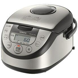 日立 HITACHI RZ-BC10M-S 炊飯器 シルバー [5.5合 /IH][RZBC10M]