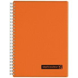 マルマン maruman A5 ノート セプトクルール オレンジ