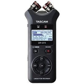 TASCAM ICレコーダー DR-07X [ハイレゾ対応][録音機 ボイスレコーダー 小型 高音質 長時間]