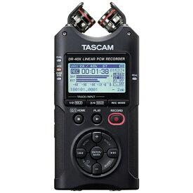 TASCAM タスカム ICレコーダー DR-40X [ハイレゾ対応][録音機 ボイスレコーダー 小型 高音質 長時間]