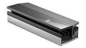 JONSBO スタイリッシュデザイン、肉厚で性能重視のM.2 SSDシートシンク M2-GRAY M2-GRAY[M2GRAY]