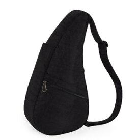 Healthy Back Bag ヘルシーバックバッグ 男女兼用 ボディバッグ テクスチャードナイロン Mサイズ iPad(ブラック)6304