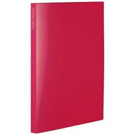 セキセイ SEKISEI フォトアルバム〈高透明〉ましかく240(ましかくサイズ(89×89mm)240枚収容) KP-8924-21 ピンク