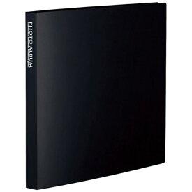 セキセイ SEKISEI フォトアルバム〈高透明〉ましかく160(ましかくサイズ(89×89mm)160枚収容) KP-8916-60 ブラック