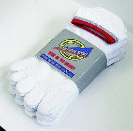 おたふく手袋 OTAFUKU GLOVE スニーカータイプソックス 3足組(白・5本指)
