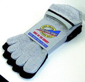 おたふく手袋 OTAFUKU GLOVE スニーカータイプソックス 3足組(カラー・5本指)