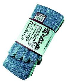 おたふく手袋 OTAFUKU GLOVE 絹のちから 5本指 3足組 (モク)