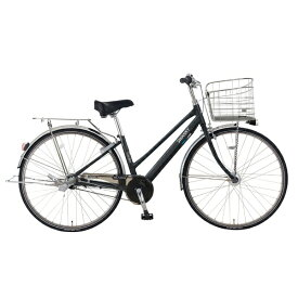 MARUKIN マルキン 27型 自転車 スワンキーベルトシティ 273(ブラック/内装3段変速)MK-18-001【組立商品につき返品不可】 【代金引換配送不可】