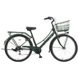 MARUKIN マルキン 【組立商品返品不可】27.5型 自転車 カンペール(マットグリーン/外装6段変速) MK-19-050※在庫有でもお届けにお時間がかかります 【代金引換配送不可】【メーカー直送・代金引換不可・時間指定・返品不可】