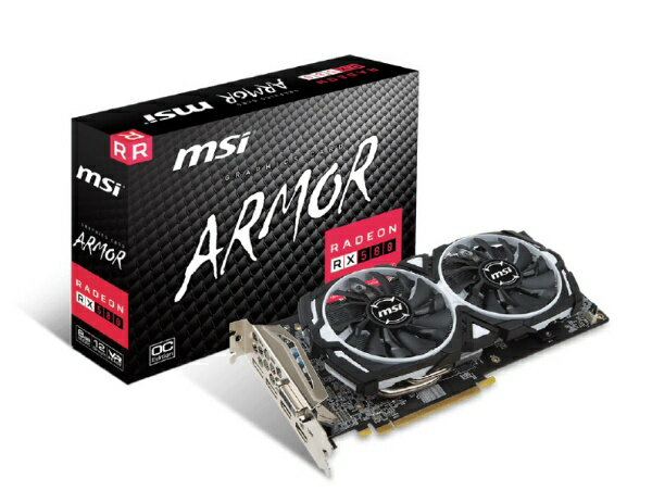 MSI エムエスアイ MSI Radeon RX 580 ARMOR 8G OC RadeonRX580ARMOR8GOC [8GB][RADEONRX580ARMOR8GOC]
